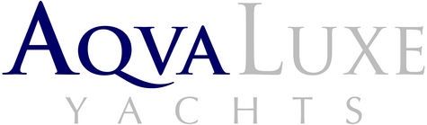 AQVALUXE YACHTS logo
