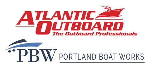 Atlantic Outboard / Westbrook Marine Center logo