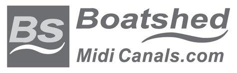 Boatshed Midi Canalslogo