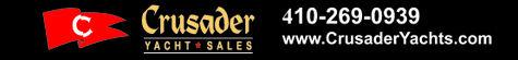 Crusader Yacht Sales Logo