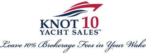 Knot 10 Yacht Sales logo