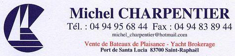 Michel CHARPENTIER - Yacht Brokerlogo
