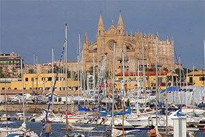 With a mild climate and a well-protected harbor, Palma de Mallorca has always been a boating mecca.