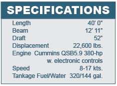 Nordic Tug 39 Specifications