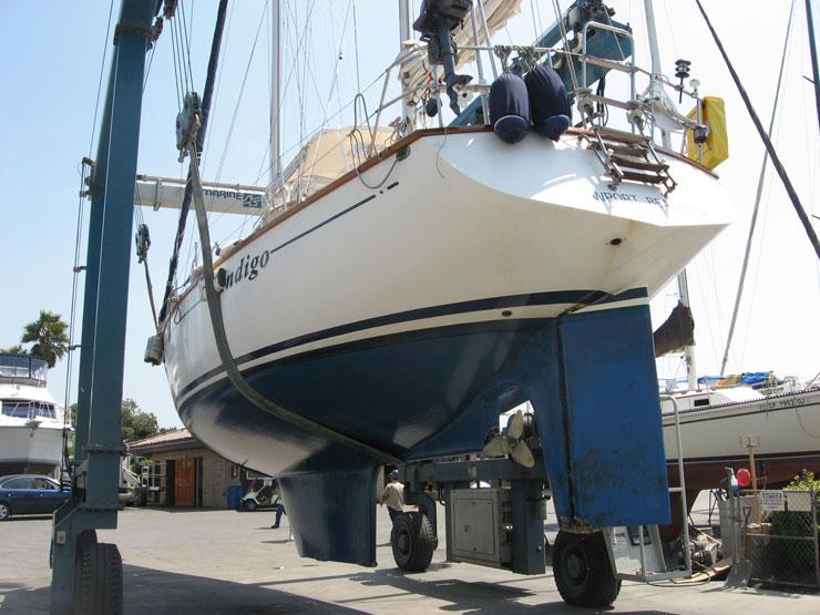 Celestial 48 sailboat