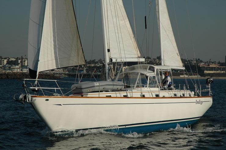 Celestial 48 sailing