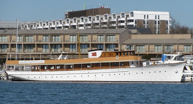 A photo of the motoryacht, Miss Ann.