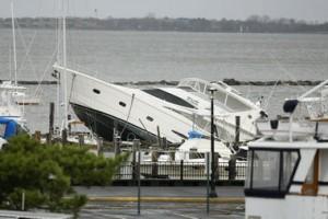 Atlantic Highlands Marina damage Hurricane Sandy