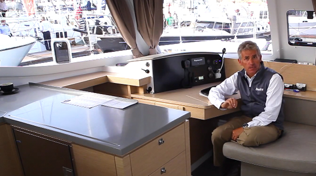 Fountaine-Pajot Helia 44 first look video