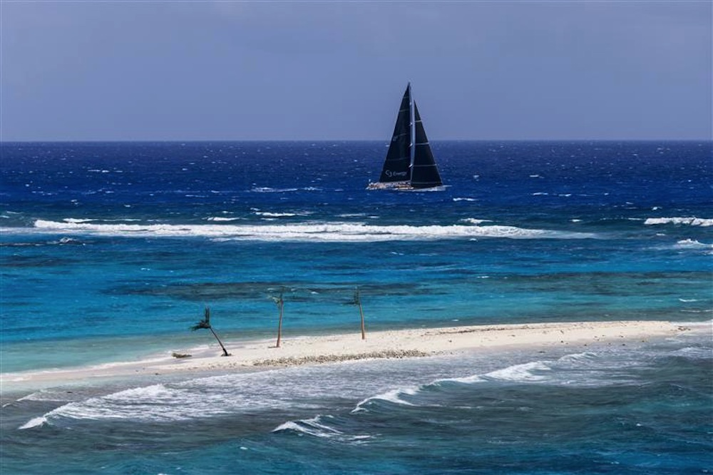 Rolex Swan Cup Caribbean sailboat racing