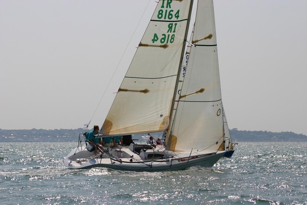 Enigma racing at the 2006 Quarter Ton Cup. Photo Fiona Brown/Quarter Ton Class.