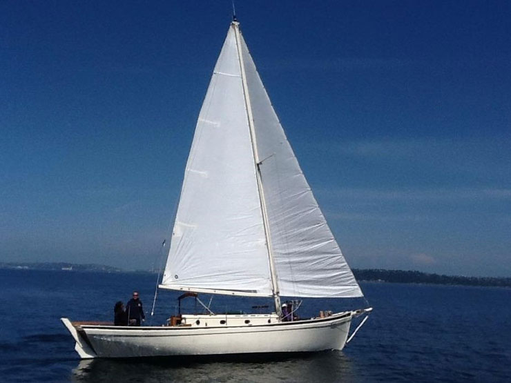 In the mid-forties Herreshoff drew the lines of the Diddikai model, of which three were built.