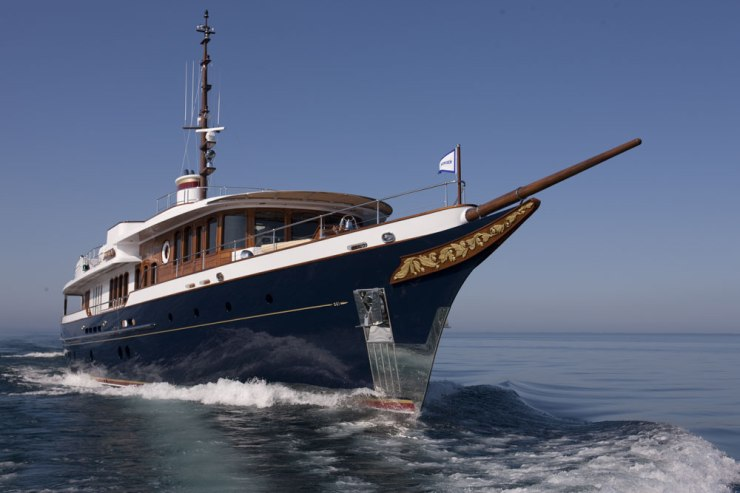 Custom motoryachts became regular deliveries for Burger in the early 20th century, and after as brief hiatus from 1990 to 1993, continue today.