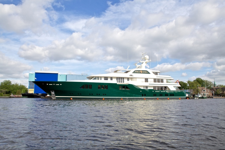 Royal Van Lent is one of the two famed Feadship yards, the other being Royal De Vries.