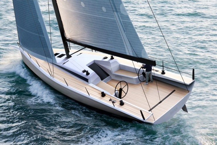 The Club Swan 50 is a racing machine with the capability of becoming an easily-handled, comfortable sports cruiser as well.
