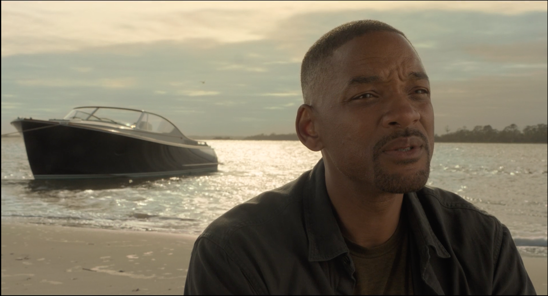 Will Smith Boat In Gemini Man Hinckley Runabout 34