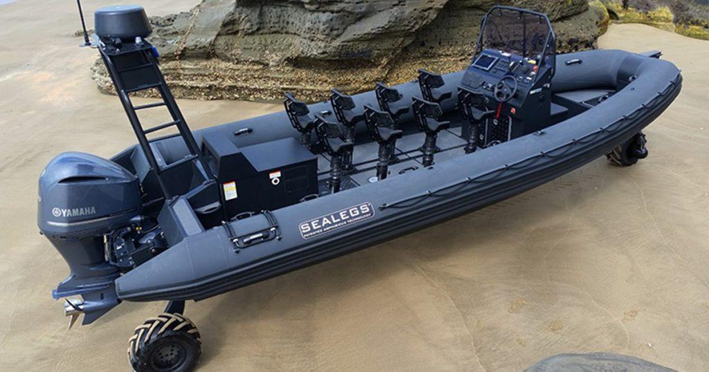 Sealegs Interceptor 9M RIB
