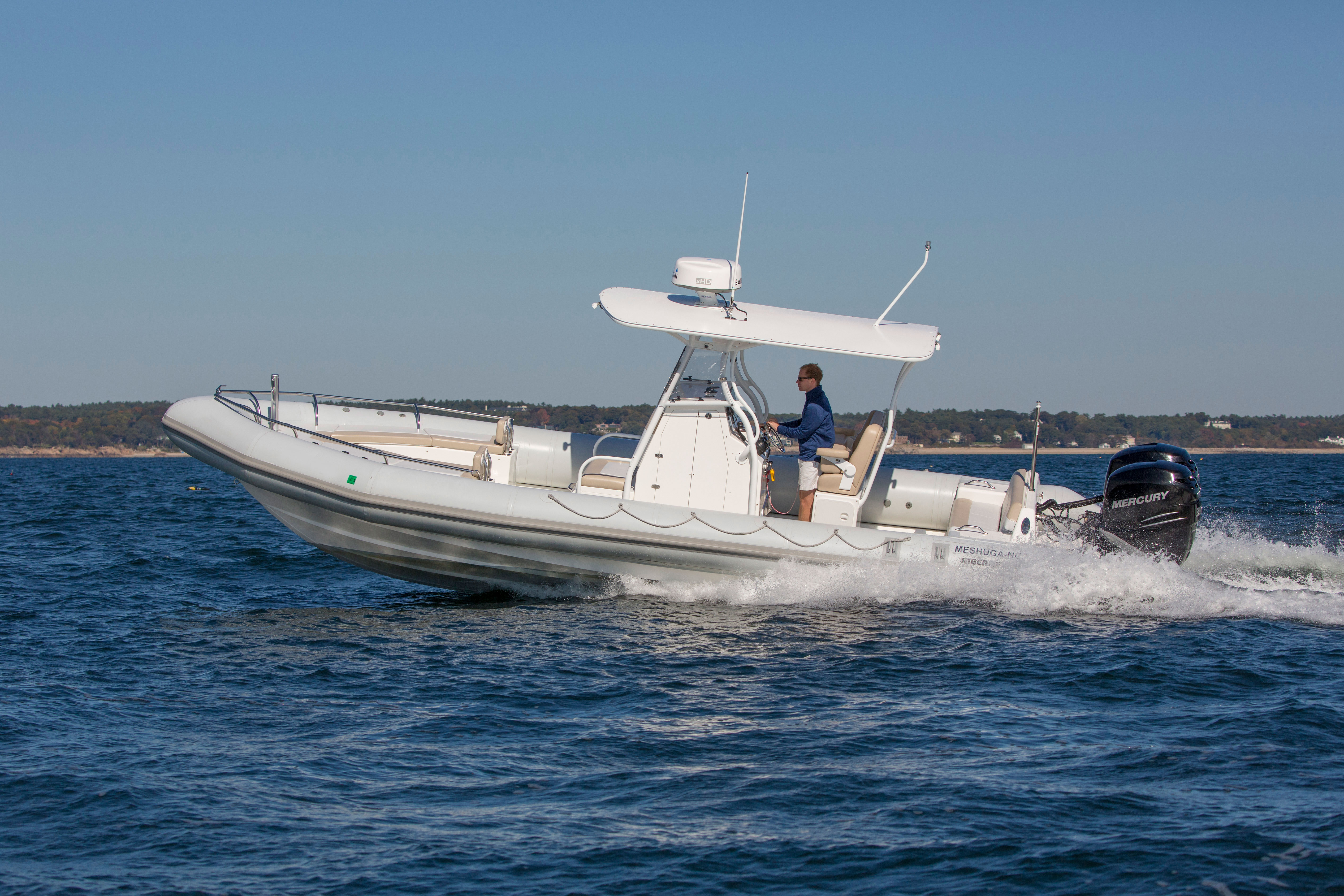 Lower weight, better fuel efficiency, ease of operation, stability and safety have led to a recent upswing in popularity of rigid inflatable boats (RIBS).