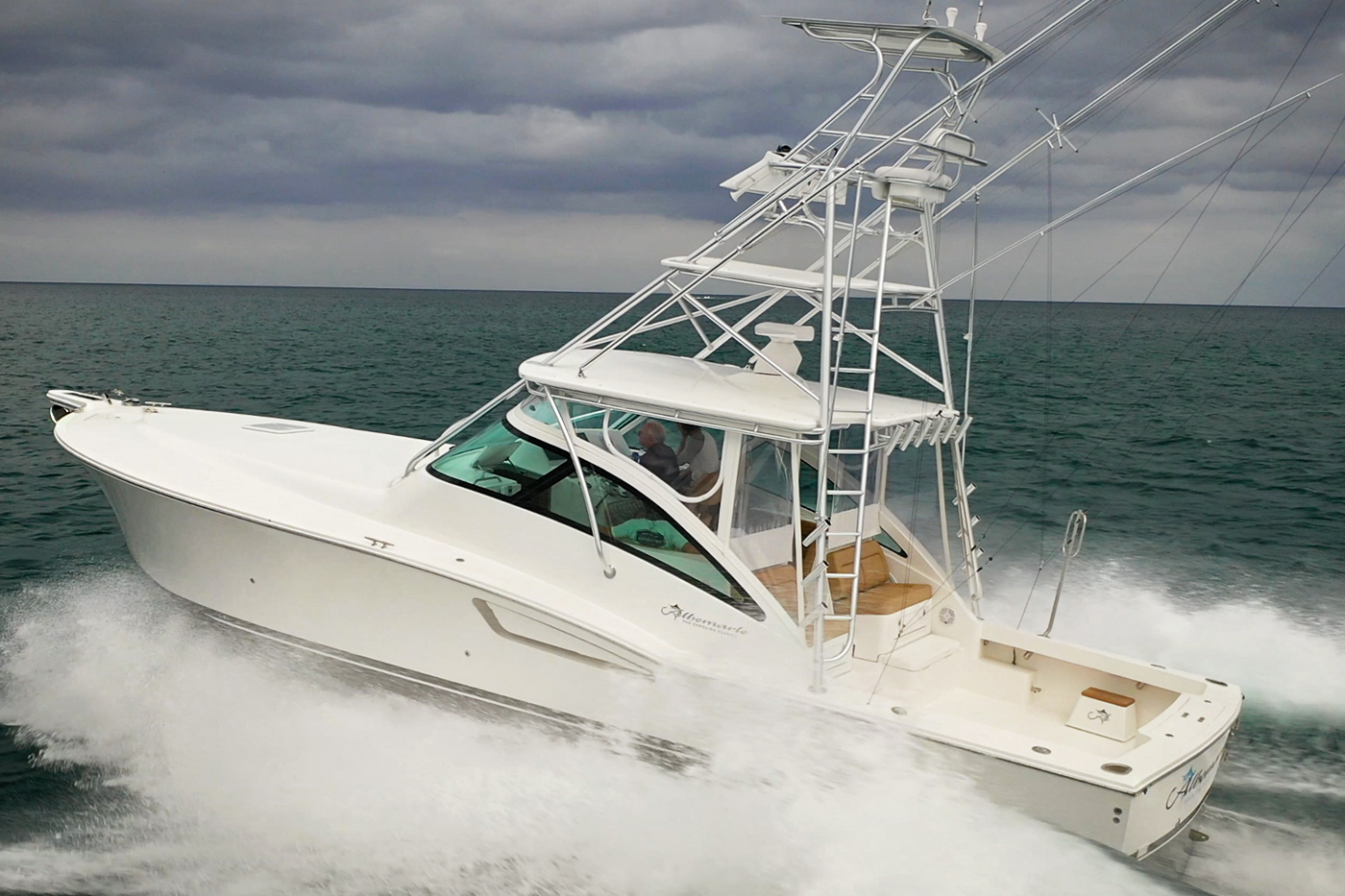 Albemarle 41 Express Custom Carolina Edition Fishing Boat