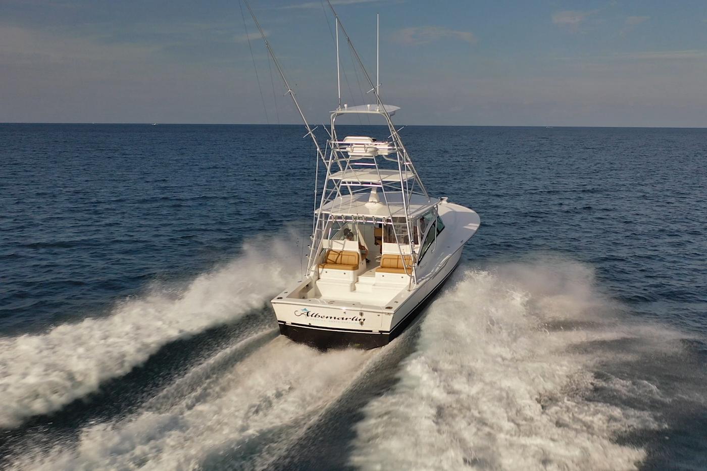 Albemarle 41 Express Fishing Boat Sea Trial