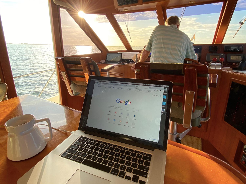 Boat WiFi Internet At Sea