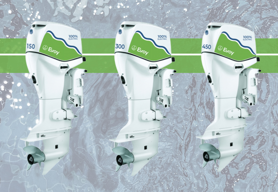 Electric Outboard Motors for boats by Evoy