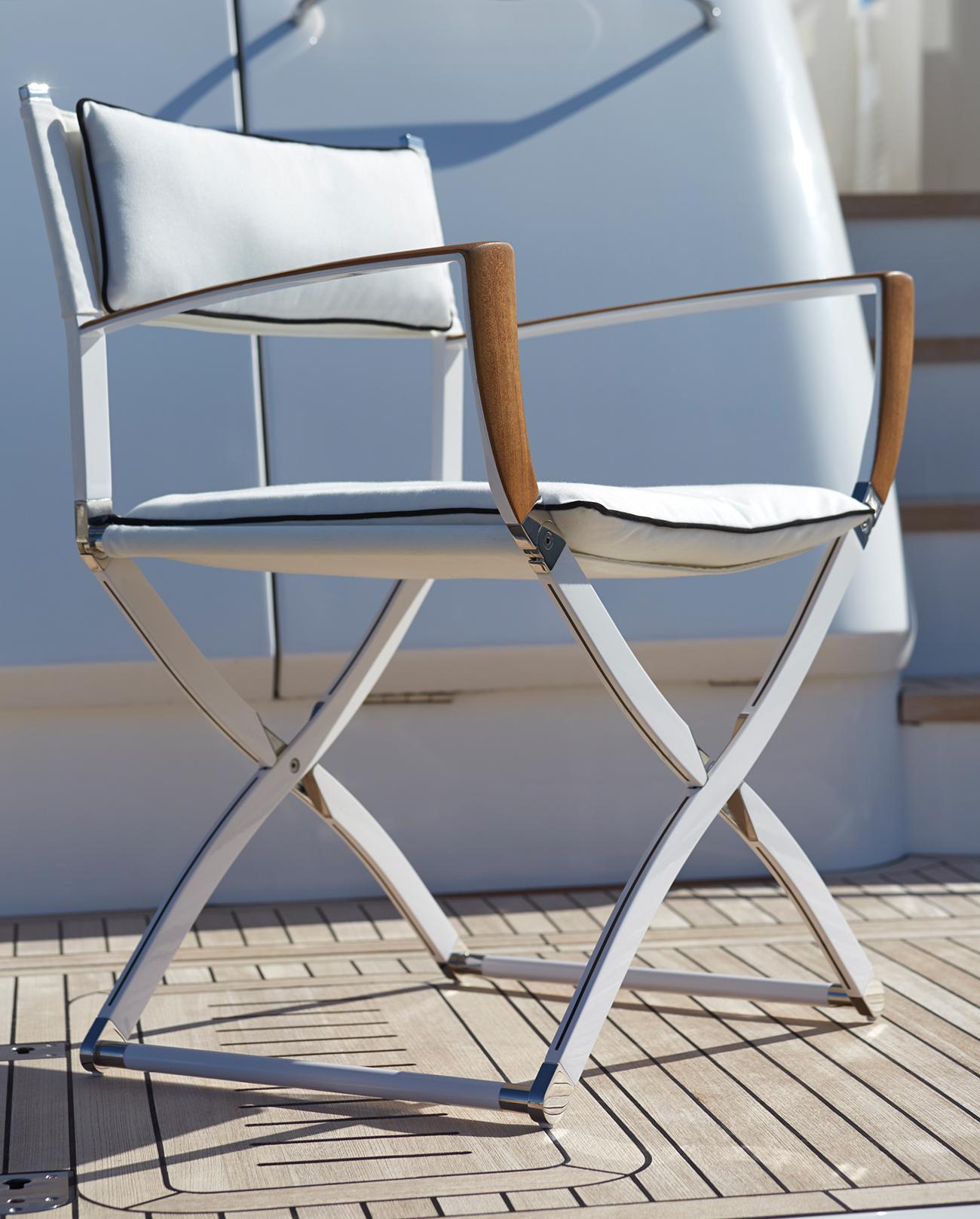 Modern Yacht Chair Folding Boat Chair