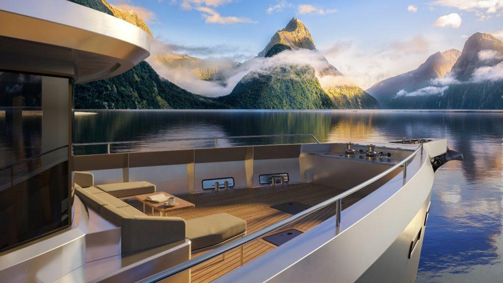 Arksen 85 explorer vessel floordeck