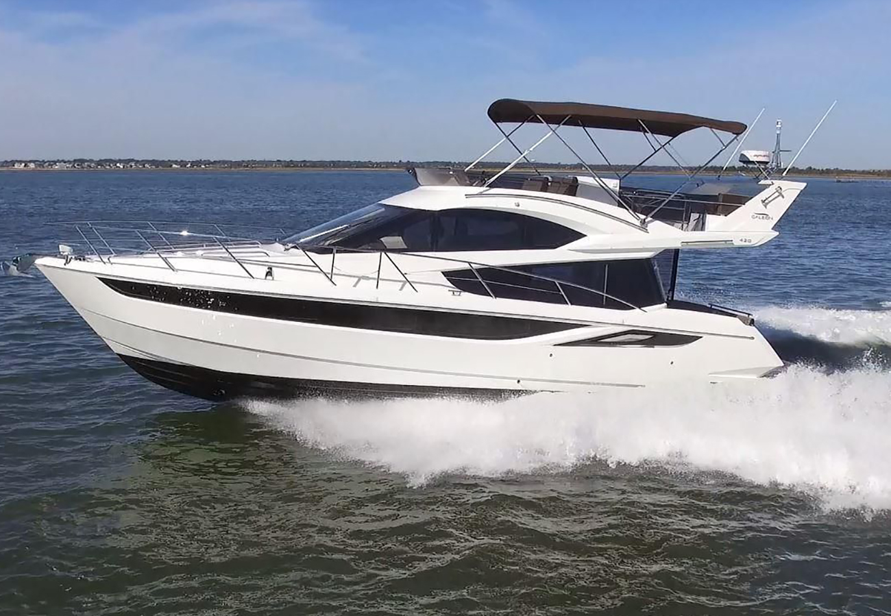 Galeon 420 Fly. Photo: Galeon.