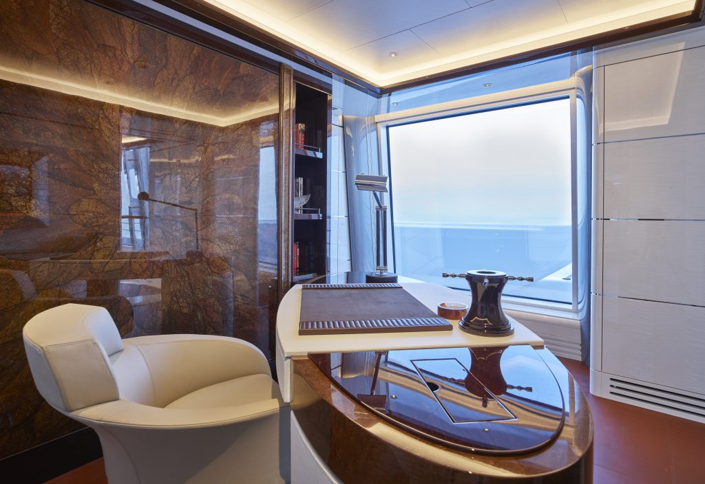 Working from superyacht Excellence