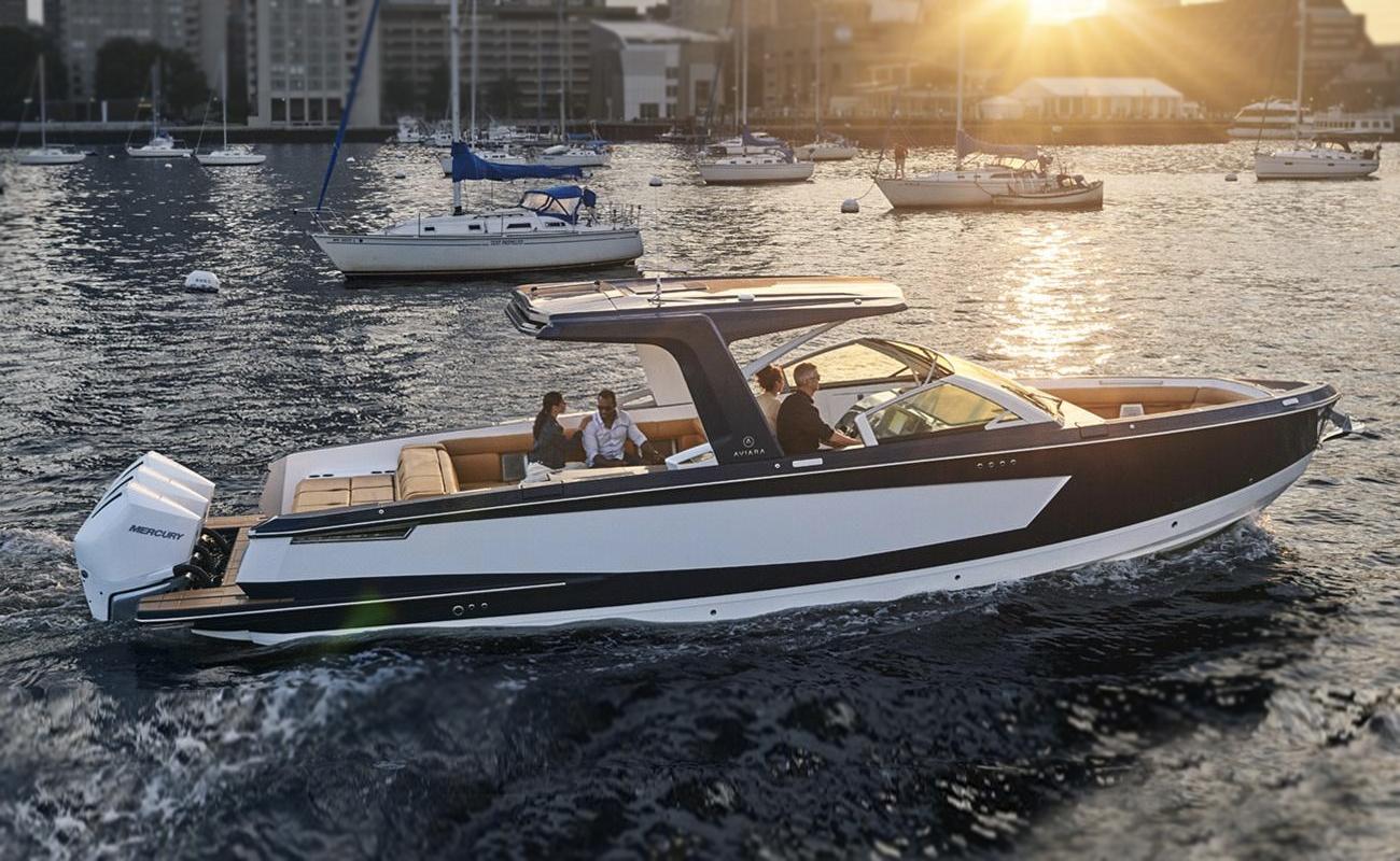 Aviara AV36 Day Boat. Photo: MarineMax / Aviara.