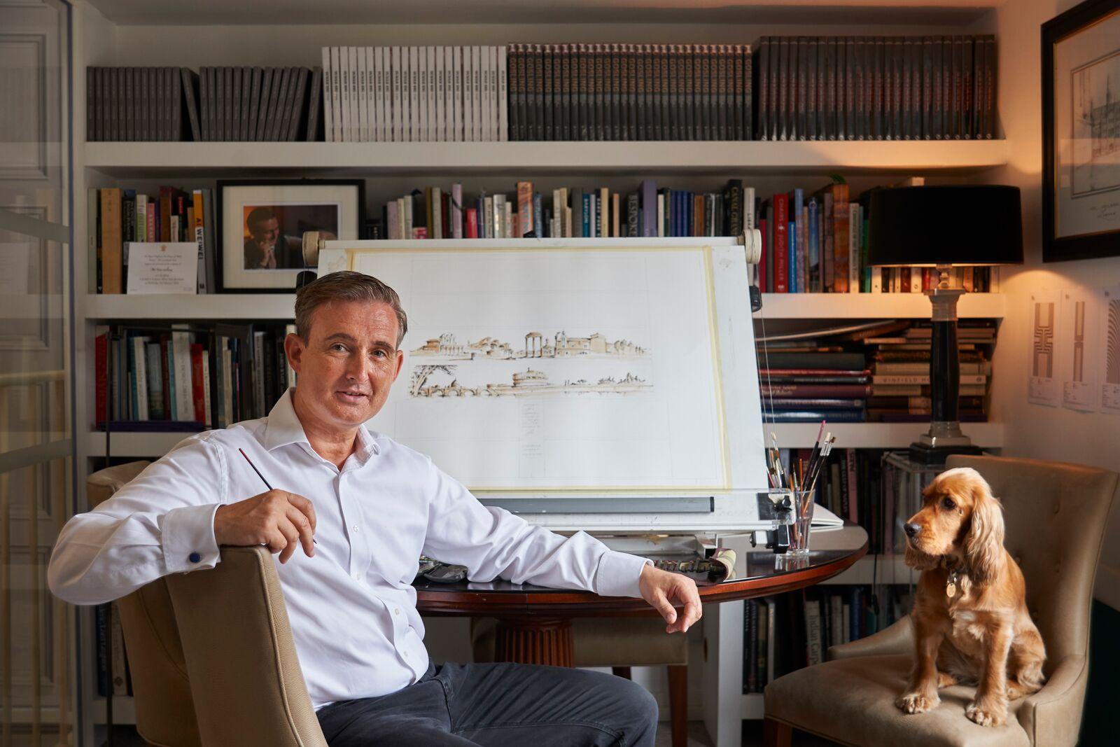 Interior yacht designer Tim Gosling