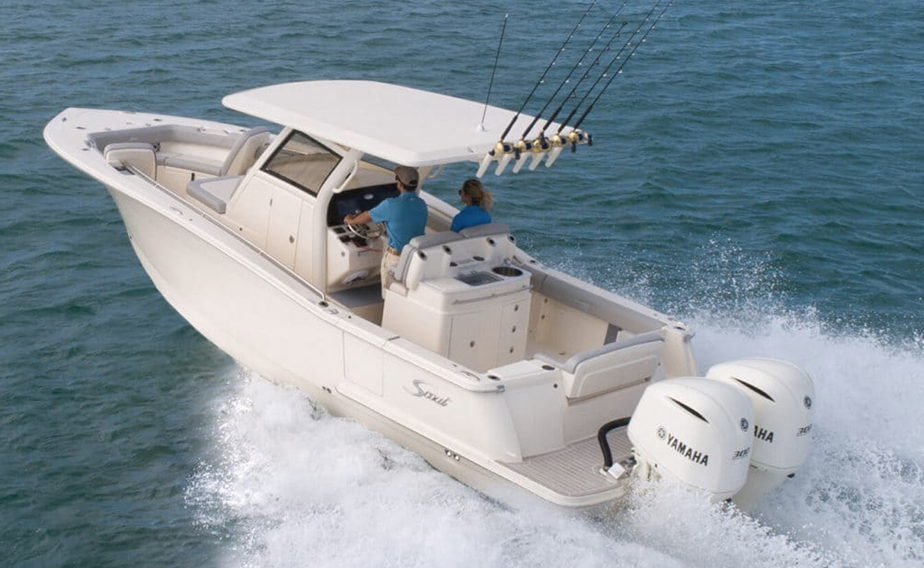 Scout 305 LXF Center Console. Photo: Scout Boats.