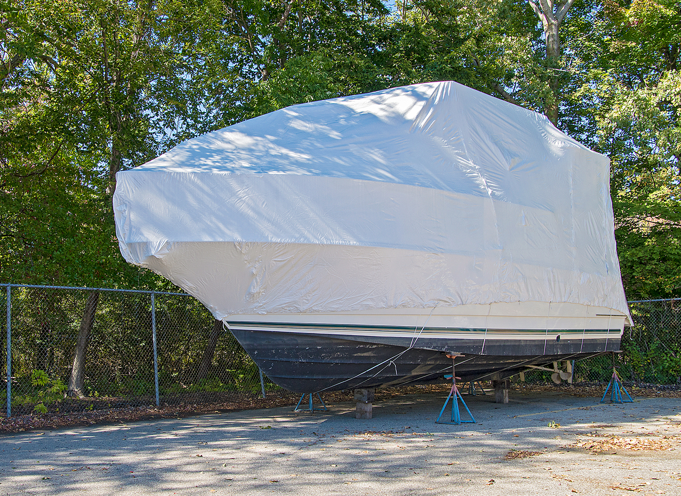 Winterizing A Yacht Or Boat