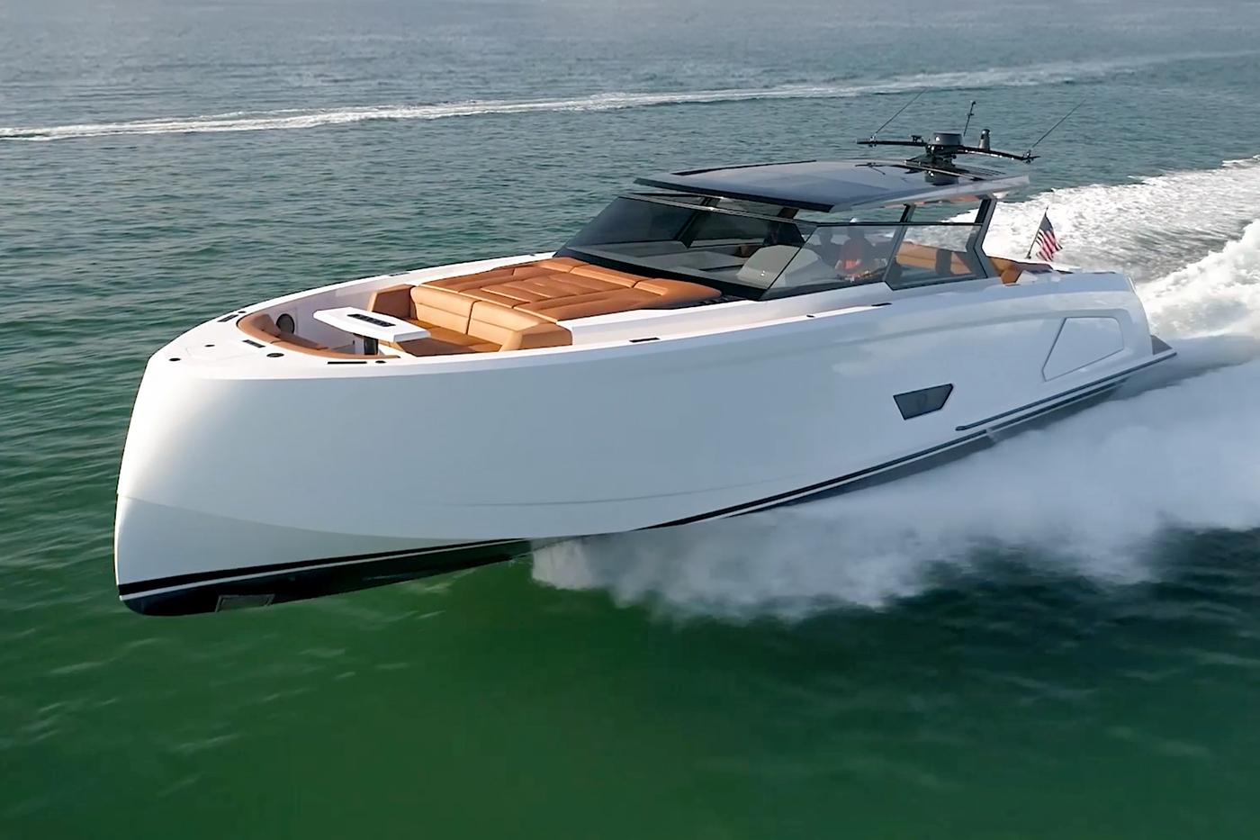 Vanquish Yachts VQ58 Luxury Yacht With Aluminum Hull Design