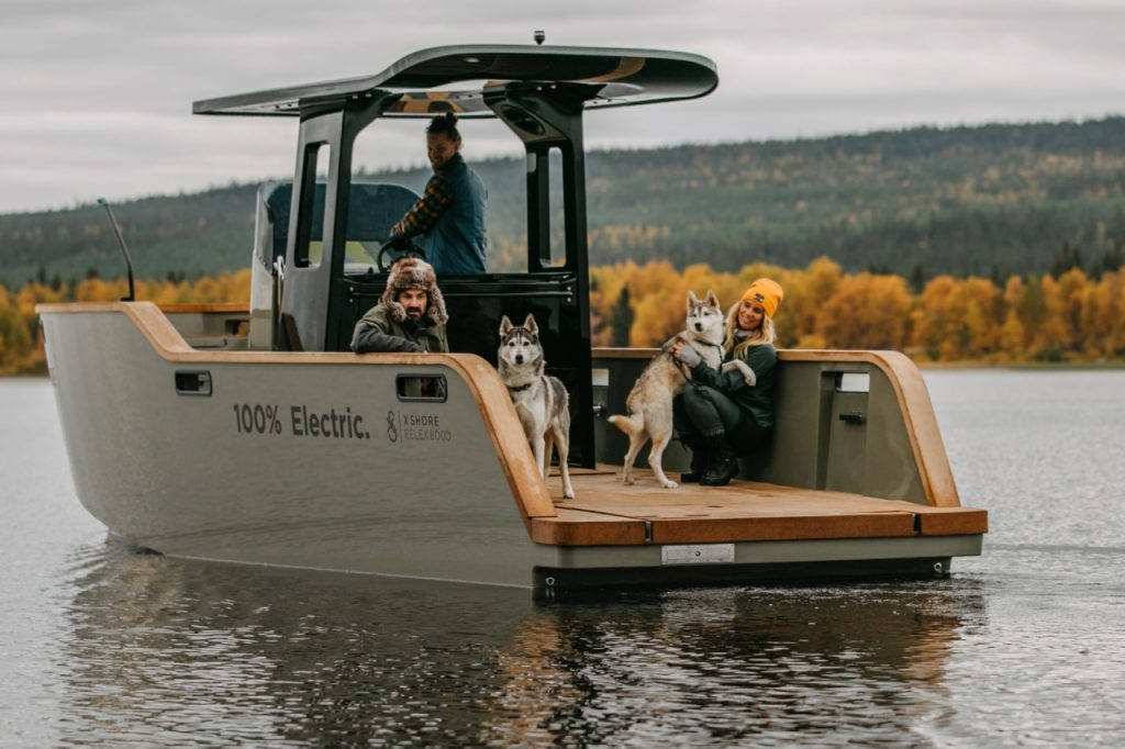 The Eelex 8000 electric boat
