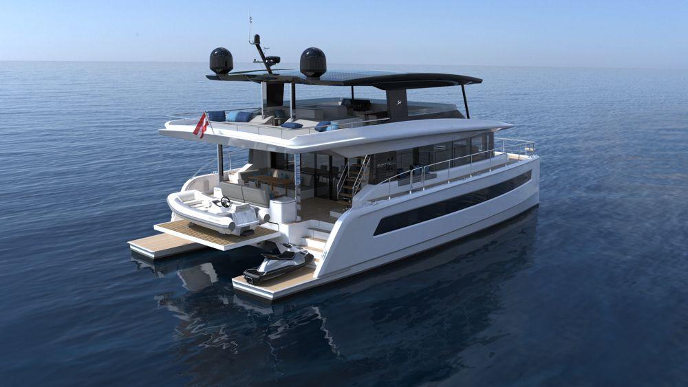 SILENT 62 catamaran Open tri-deck