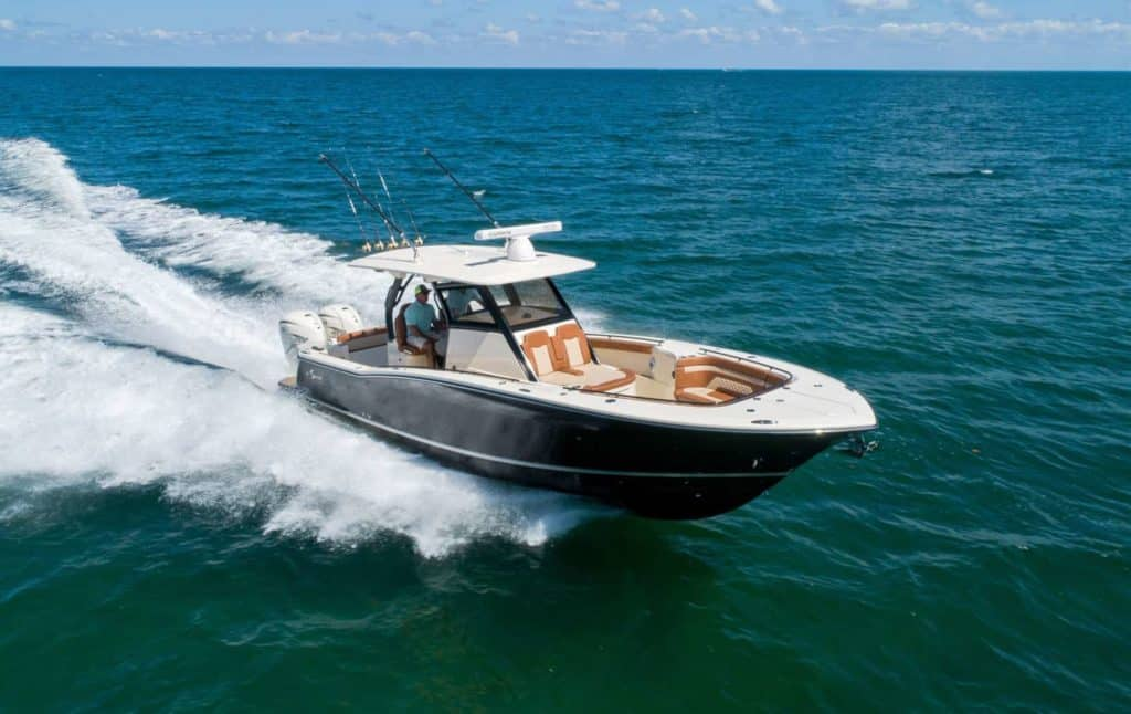 Scout 330 LXF Center Console Boat. Photo by Scout Boats
