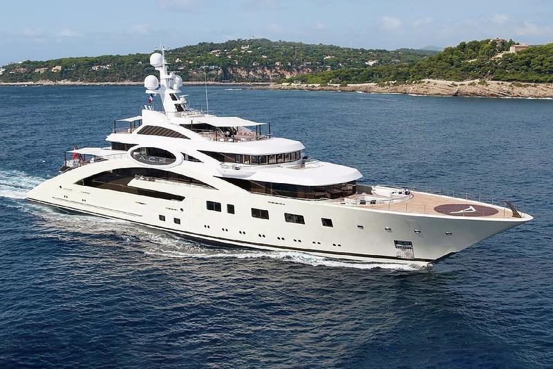 ACE superyacht by Lurssen