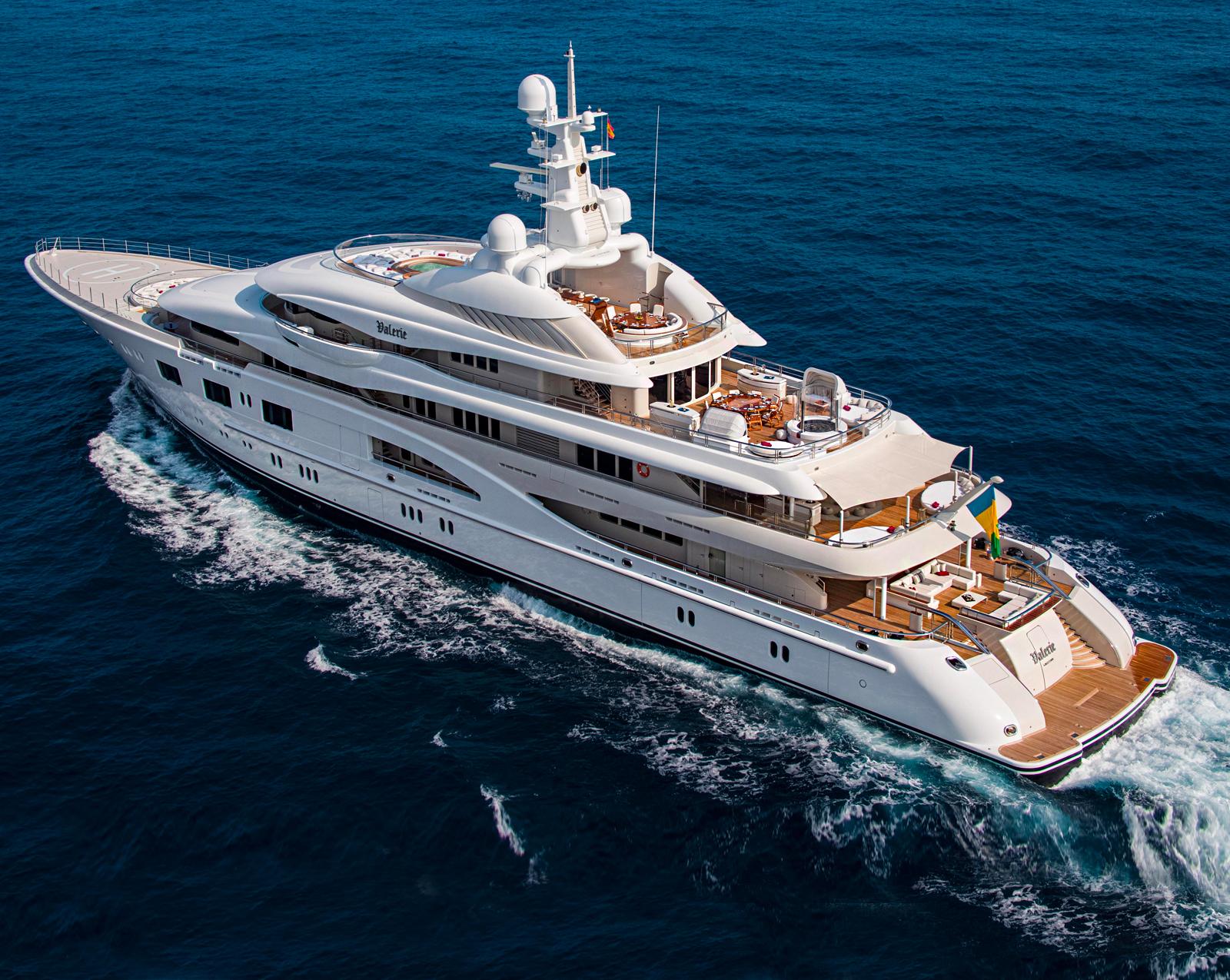 Valerie Superyacht By Lurssen.