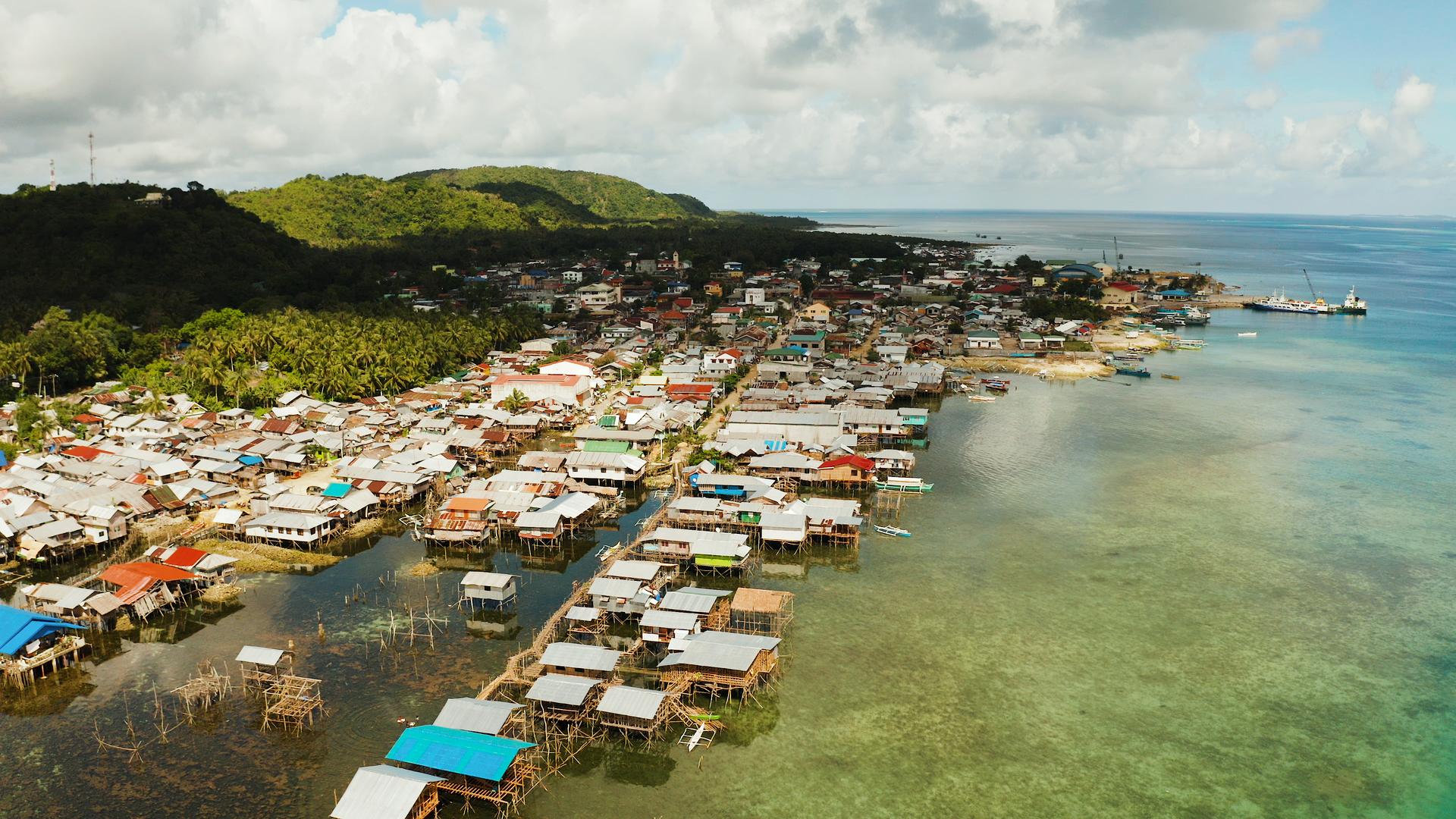 Sailing Through Dapa in the Philippines