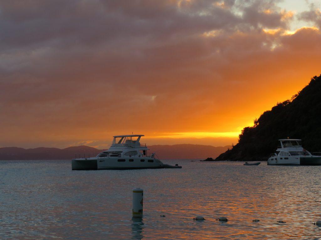 BVI soggy sunset
