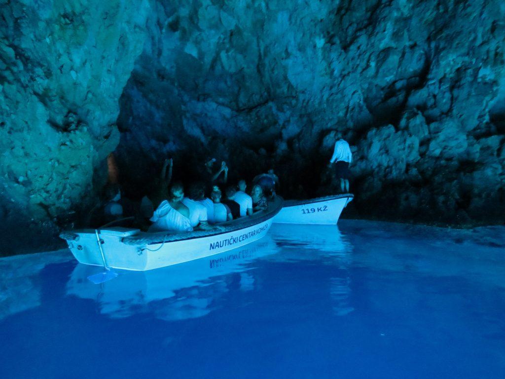 Croatia Bisovo Blue Cave