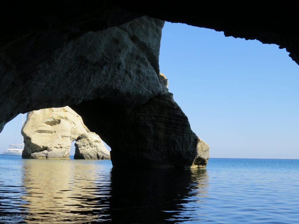 Kleftiko cave