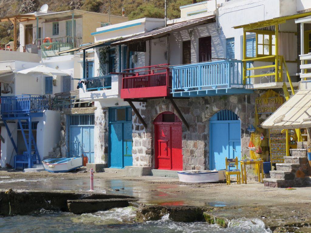 Milos Klima fishing village