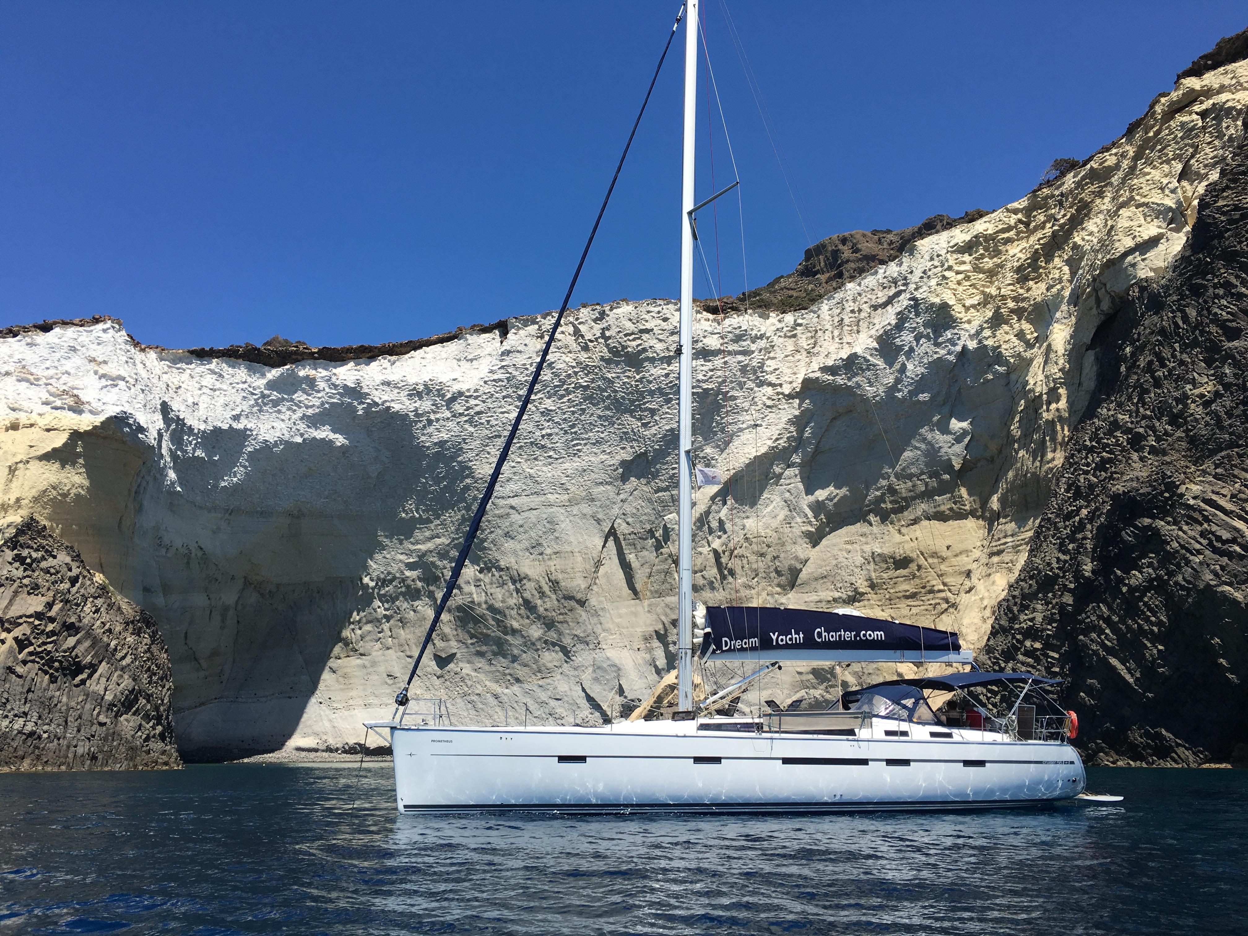 Sailing in Sikia