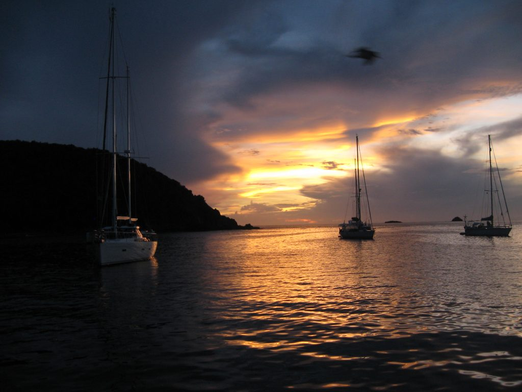 Grenadines sunset