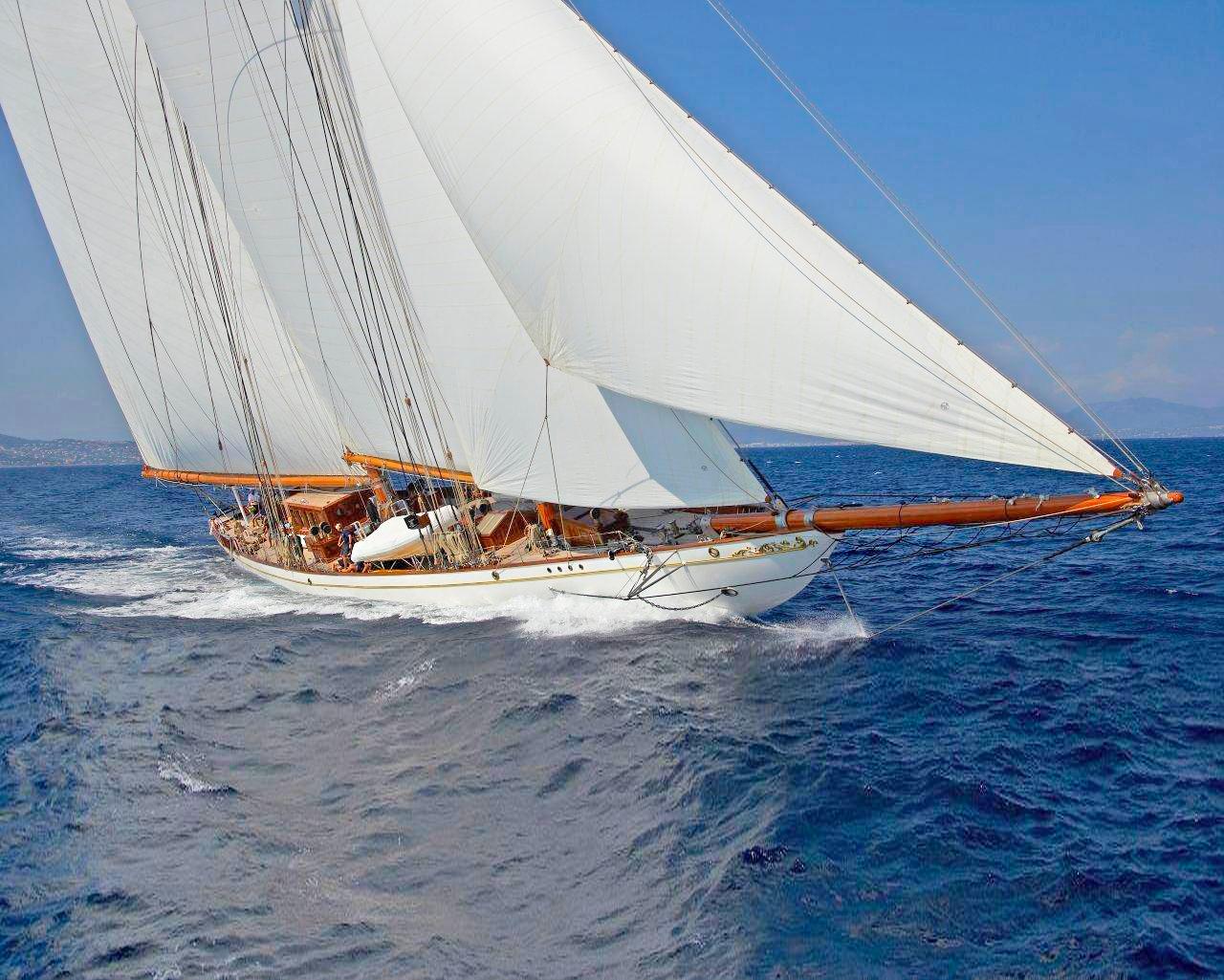 2011 Germania Sailboat Replica at 197 feet