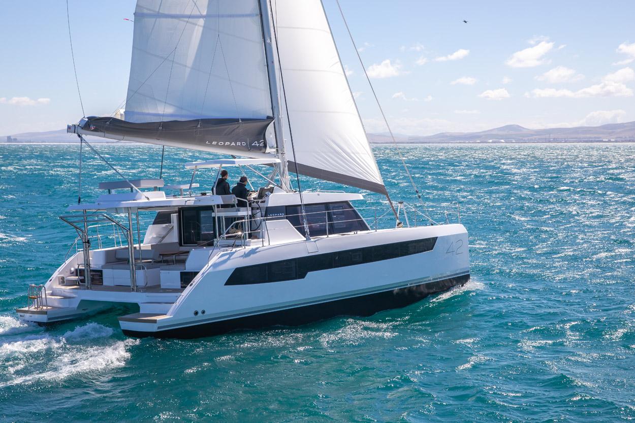 2021 Leopard 42 Catamaran Sailing Yacht