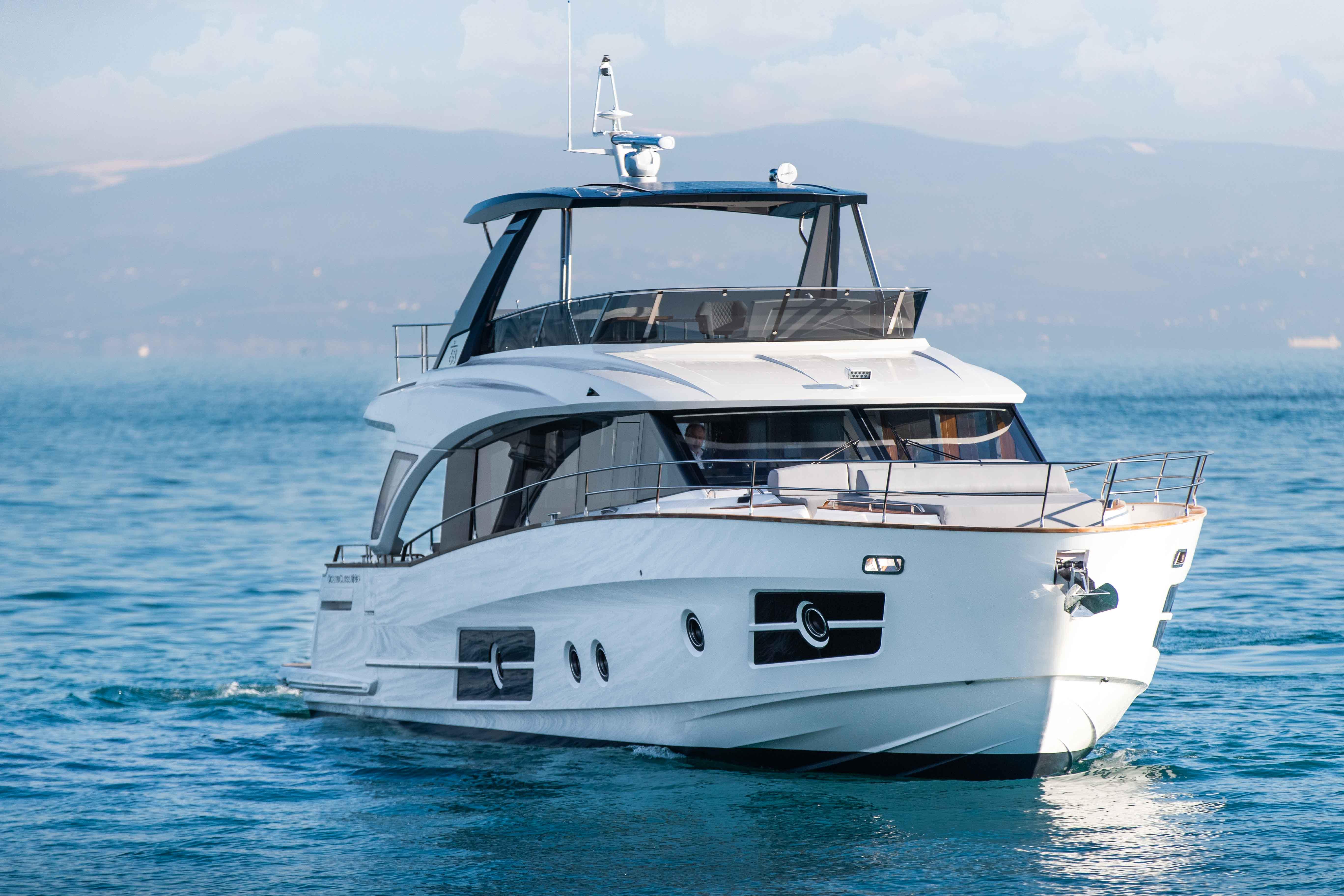 OceanClass 68 Hybrid Yacht